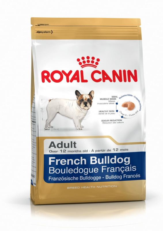 Royal Canin Breed Health Nutrition French Bulldog Adult 1.5 kg, 3 kg, 9 kg