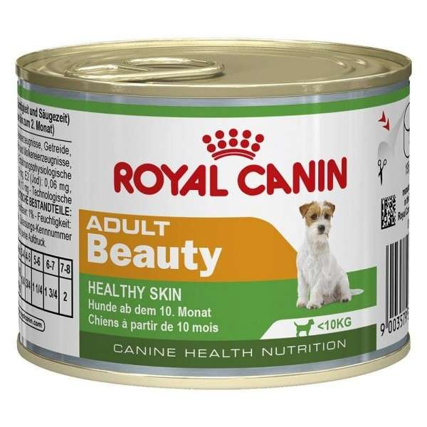 Royal Canin Canine Health Nutrition, Dose Mini Adult Beauty 195 g osta edullisesti