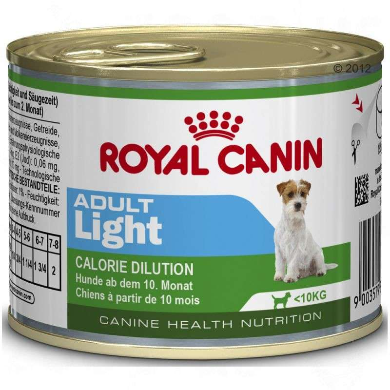 Royal Canin Canine Health Nutrition Mini Adult Light 195 g osta edullisesti