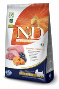 N&D Pumpkin Lamb & Blueberry Adult Mini 7 kg