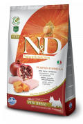 N&D Pumpkin Chicken & Pomegranate Adult Mini 2.5 kg