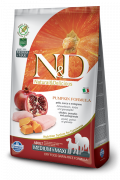 N&D Pumpkin Chicken & Pomegranate Adult Medium & Maxi 2.5 kg