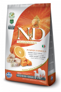 Farmina N&D Pumpkin Adult Medium & Maxi con Bacalao y Naranja 2.5 kg