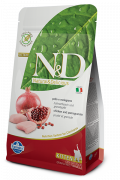 N&D Grain-Free Kitten con Pollo y Granada 300 g