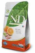 N&D Grain-Free Adult mit Fisch und Orange 1.5 kg