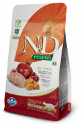 N&D Pumpkin Adult Chat Stérilisé Caille et Grenade 300 g