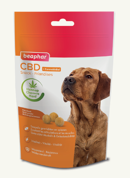 Beaphar CBD Snack with Chicken 150 g kjøp billig med rabatt