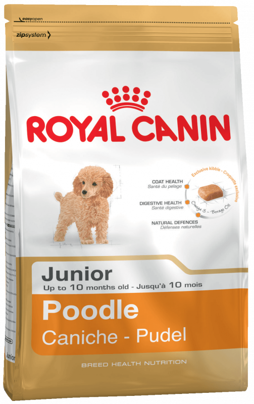 Royal Canin Breed Health Nutrition Poodle Junior 3 kg, 500 g