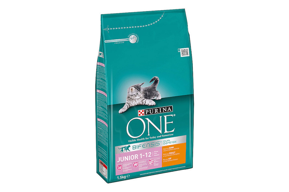 Purina One Bifensis Junior 1-12 months, Rich in Chicken and with Whole Grains