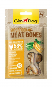 GimDog Superfood Meat Bones Huhn mit Banane und Sellerie 70 g Art.-Nr.: 80317