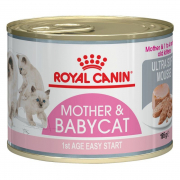 Royal Canin Feline Health Nutrition Mother & Babycat Ultrasoft Mousse 195 g