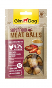 GimDog Superfood Meat Balls Chicken with Sweet Potatoe and Millet 70 g