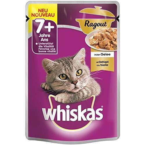 Whiskas Casserole with Poultry in Jelly 7+ 85 g test
