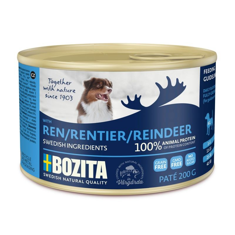Bozita Paté con Renna in Lattina 200 g