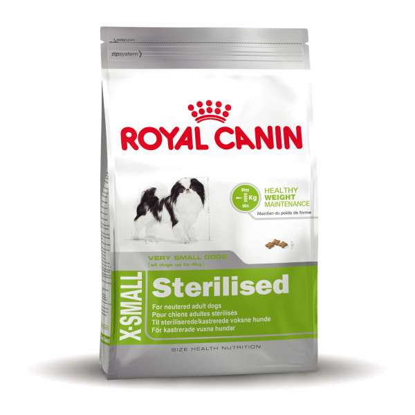 Royal Canin Size Health Nutrition X-Small Sterilised 500 g, 1.5 kg