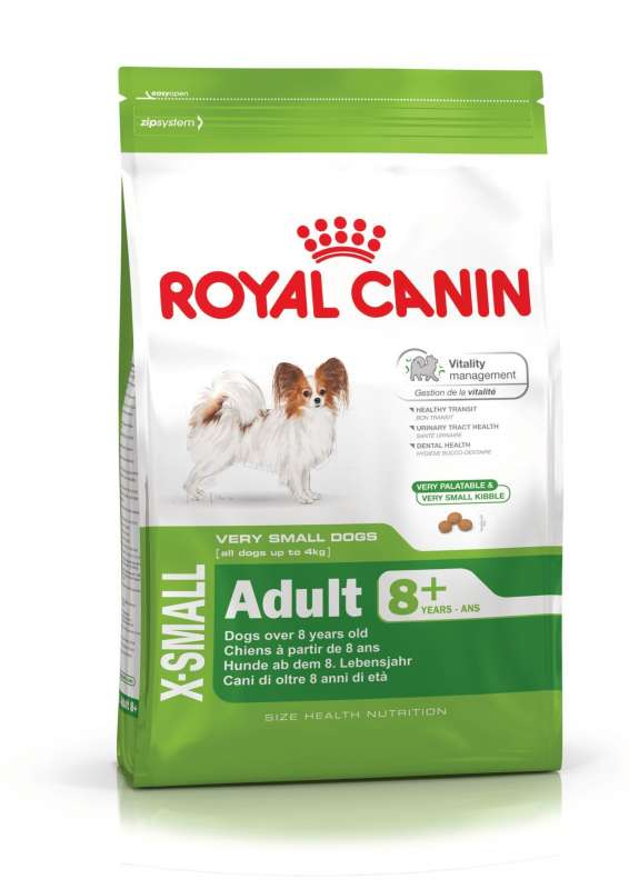 Royal Canin Size Health Nutrition X-Small Adult 8+ 1.5 kg 3182550831345
