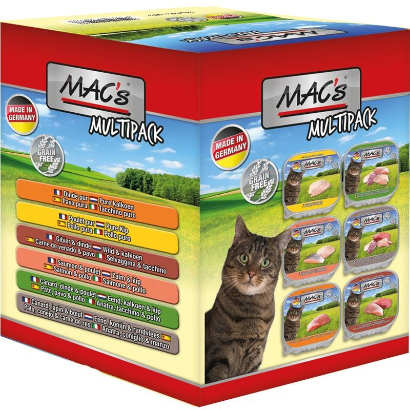 MAC's Cat Tray Multipack 6x85 g 4027245005238 ervaringen