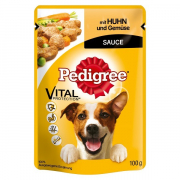 Pedigree Pouches with Chicken and Vegetables in sauce Art.-Nr.: 181