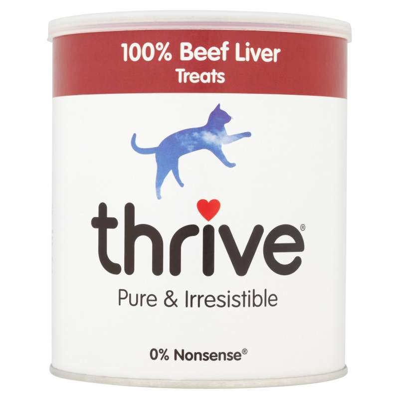 thrive Cat Treats 100% Beef Liver Maxi Tube 110 g, 15 g, 180 g, 25 g, 135 g, 200 g, 225 g, 35 g test