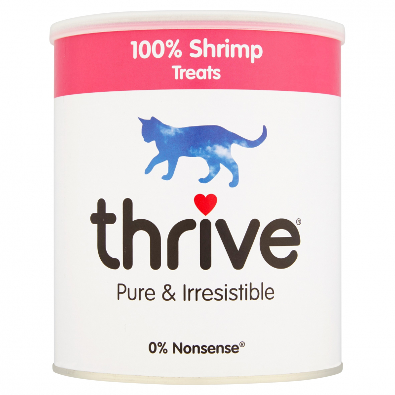 thrive Cat Treats 100% Shrimp Maxi Tube 110 g