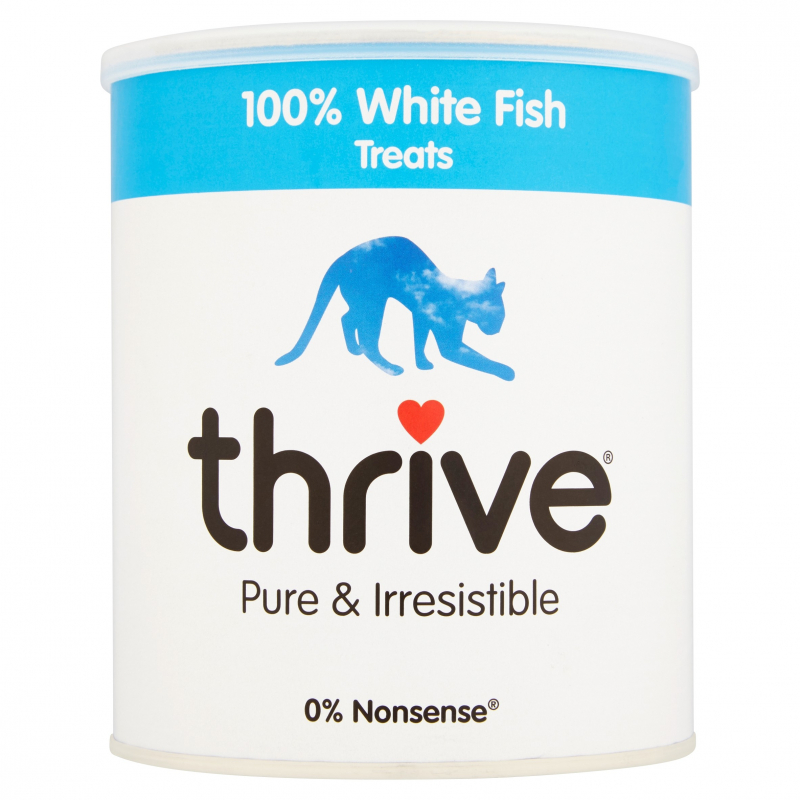thrive Cat Treats 100% White Fish Maxi Tube 110 g, 15 g, 180 g, 25 g, 135 g, 200 g, 225 g, 35 g test