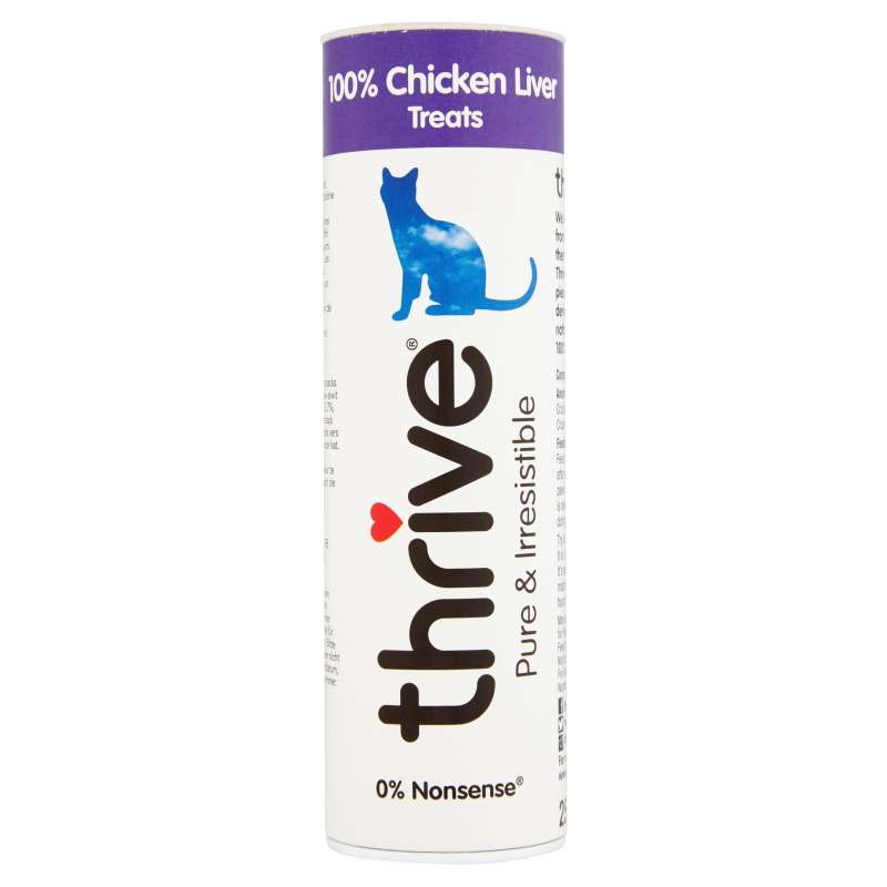 thrive Cat Treats 100% Chicken Liver 25 g
