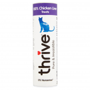 Cat Treats 100% Chicken Liver 25 g