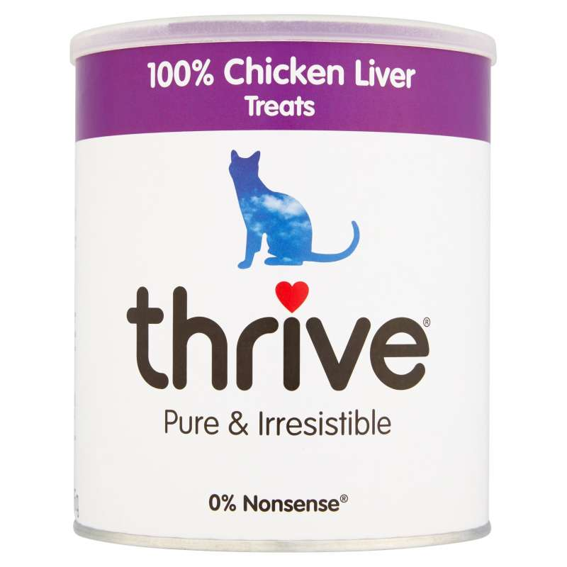 thrive Cat Treats 100% Chicken Liver Maxi Tube 135 g 5023538101471 ervaringen