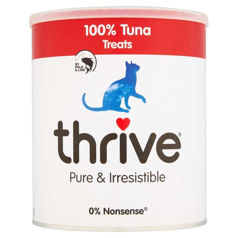 thrive Cat Treats 100% Tuna Maxi Tube 180 g