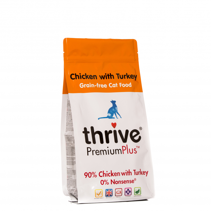 thrive Premium Plus 90% Pollo e Tacchino 1.5 kg test