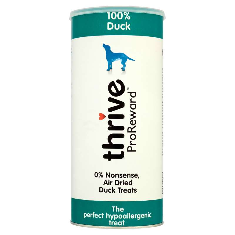 thrive Hundesnacks ProReward 100% Ente Maxi Tube 5023538100818