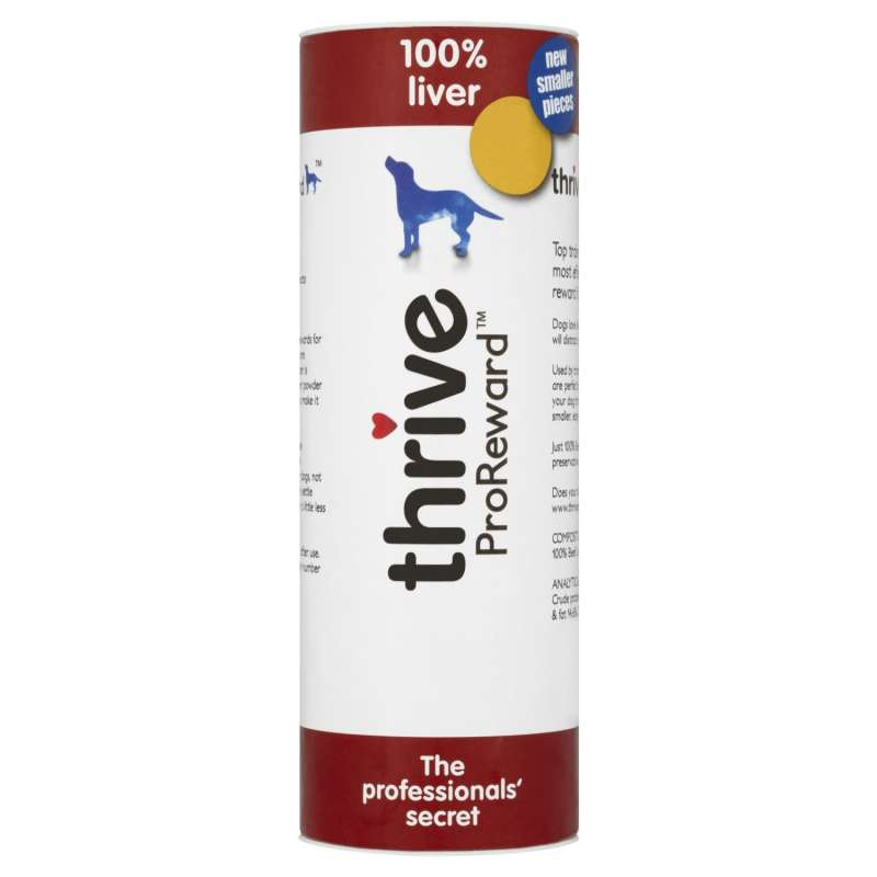 thrive Hundesnacks ProReward 100% Leber 500 g, 60 g bei Zoobio.at