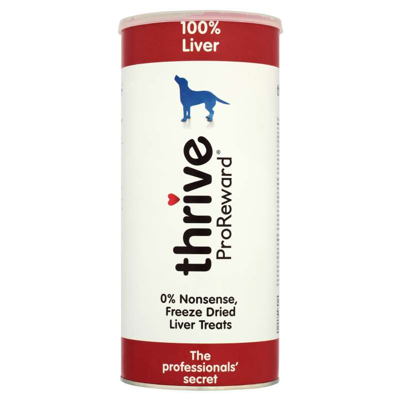 thrive Hundesnacks ProReward 100% Leber Maxi Tube 500 g, 60 g