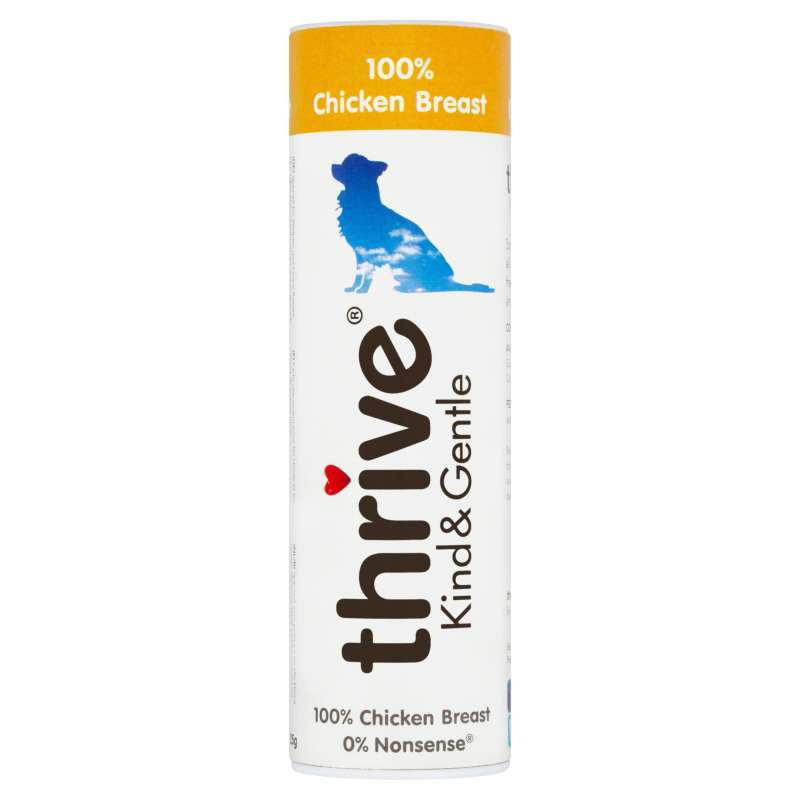 thrive  Snacks para Perros Kind & Gentle 100% Pollo 25 g 5023538100801 opiniones