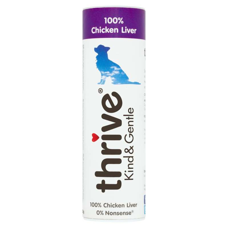 thrive Dog Treats Kind & Gentle 100% Chicken Liver 25 g