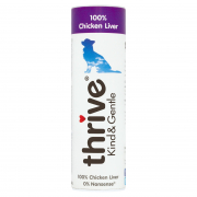 thrive Friandise Kind & Gentle 100% de Foie de Poulet 25 g