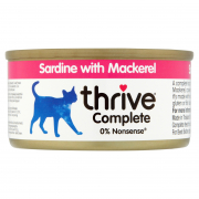 Complete Sardine with Mackerel 75 g