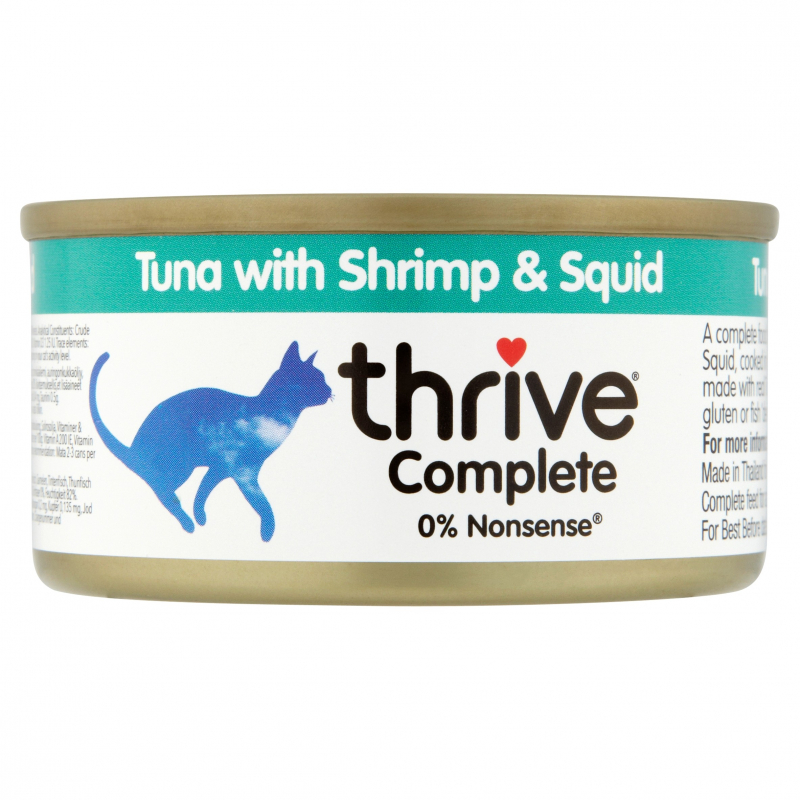 thrive Complete Tuna with Shrimp and Squid 75 g
