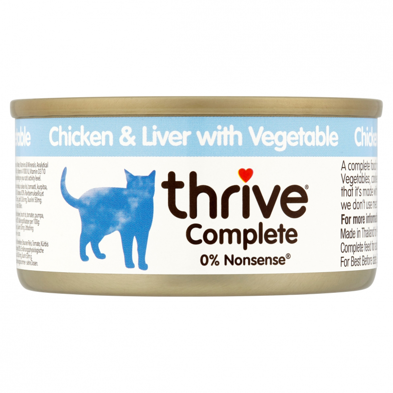 thrive Complete Chicken and Chicken Liver with Vegetables 5023538101891 kokemuksia