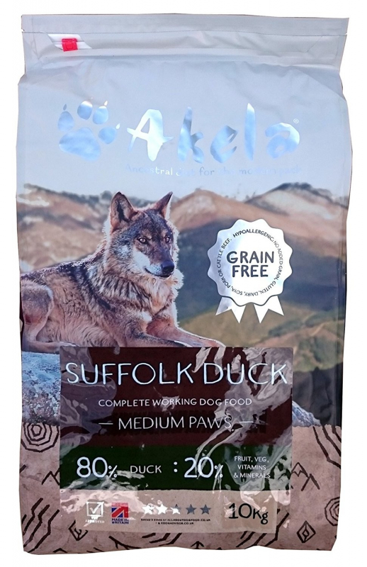 Akela Suffolk Duck Medium Paws 1.5 kg 5060315015620 opiniones