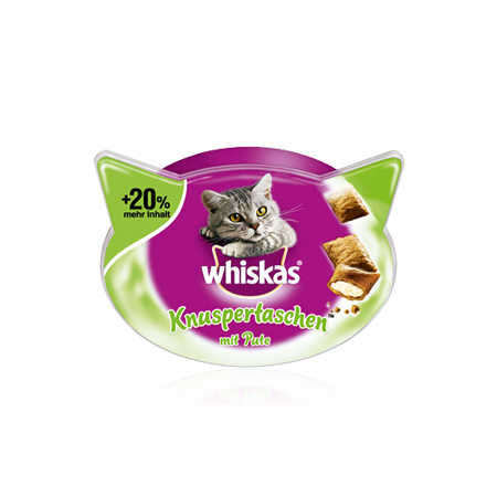 Whiskas Temptations Kalkun 72 g