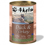 Akela Duck & Turkey 400 g