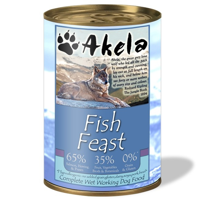 Akela Fish Feast EAN: 5060315016030 reviews