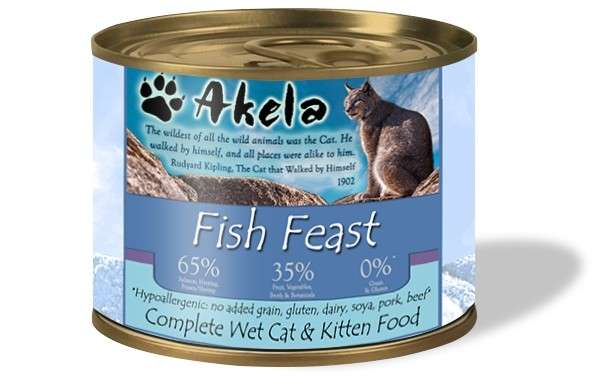 Akela Fish Feast 190 g, 200 g
