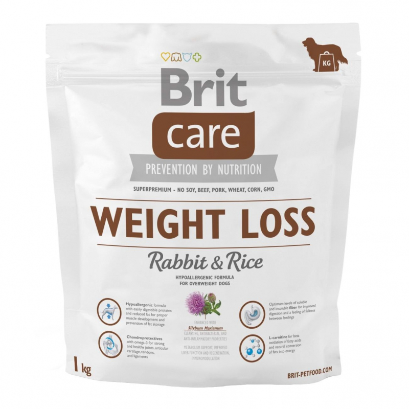 Brit Care Weight Loss med Kanin og Ris 1 kg