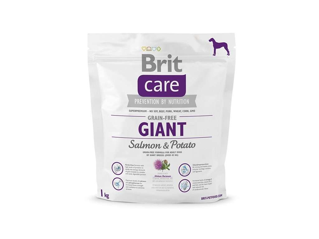 Brit Care Giant Adult Grain-free med Lax och Potatis 1 kg