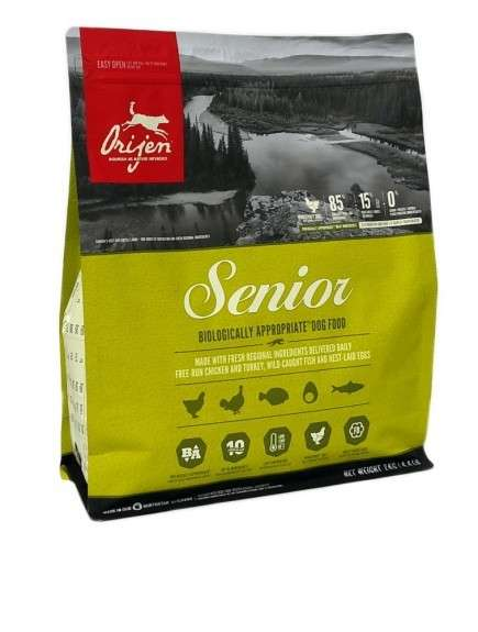 Orijen Senior Whole Prey 11.4 kg, 2 kg, 340 g, 6 kg