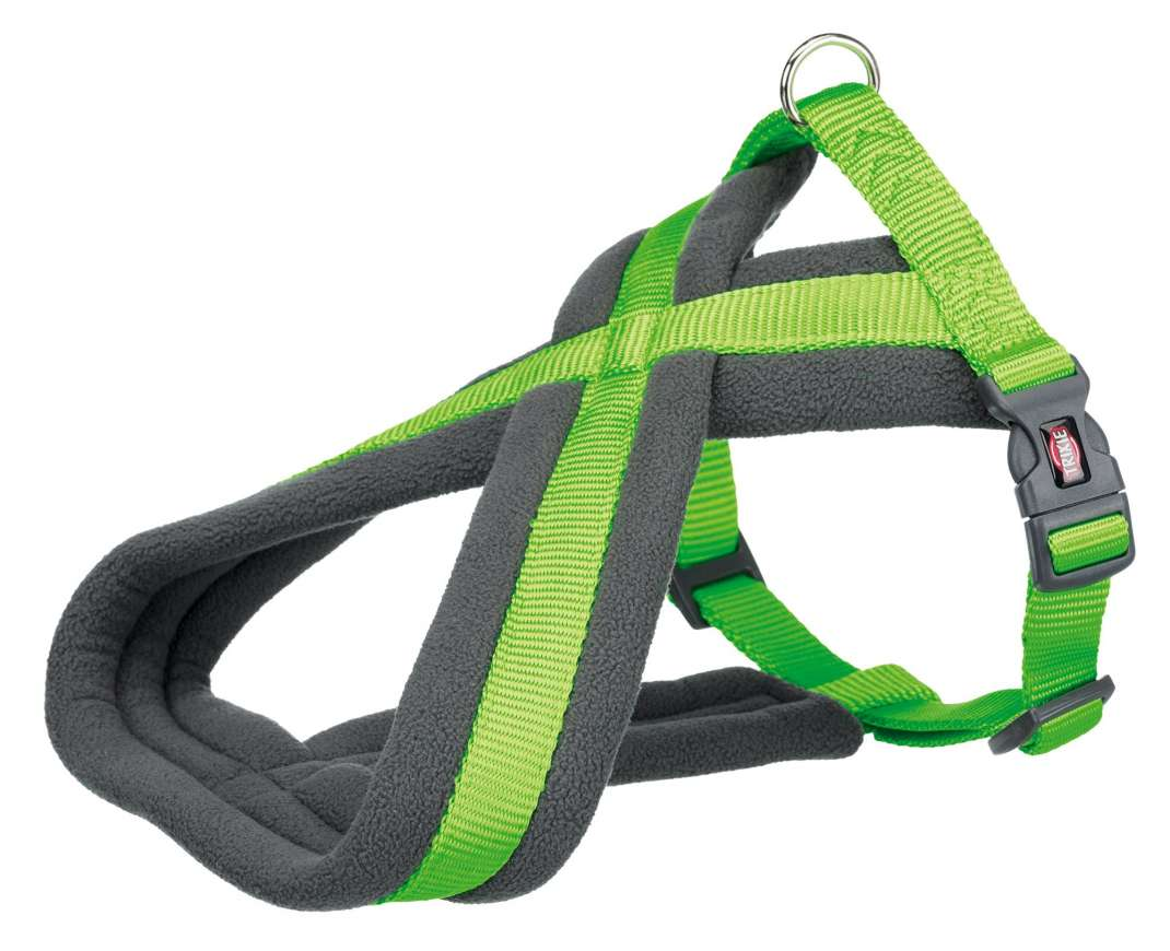 Trixie Premium Touring Harness  Neon green L-XL order cheap