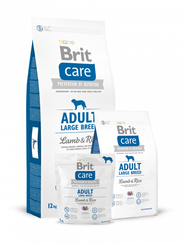 Brit Care Adult Large Breed with Lamb & Rice 12 kg order cheap