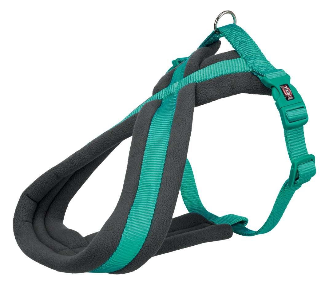Trixie Premium Touring Harness  Green petrol L-XL order cheap